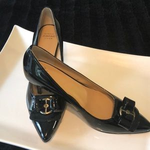 Shoes - Joan & David Luxe black patent leather heels